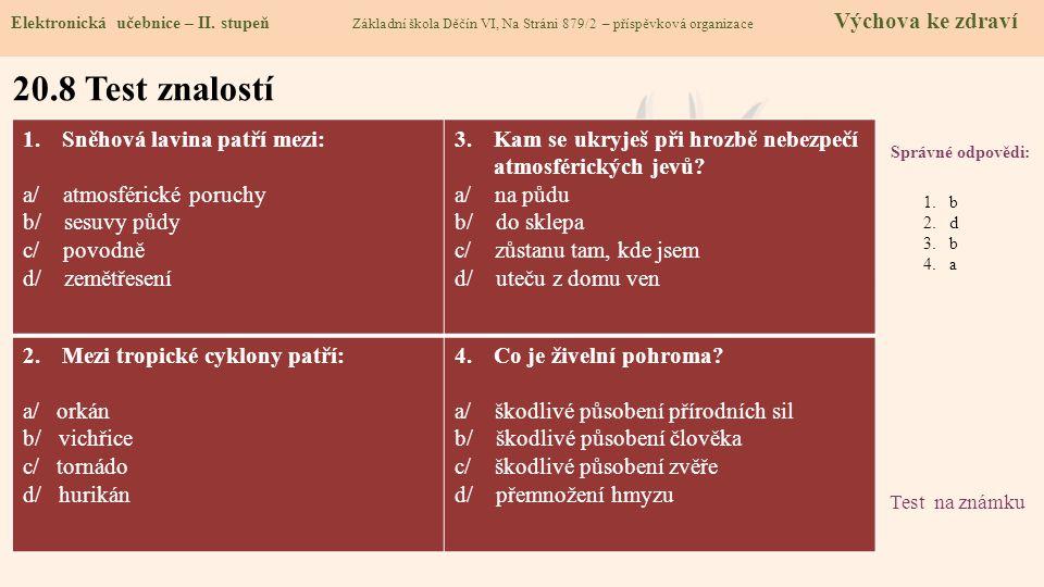 20.9 Použité zdroje, citace Elektronická učebnice – II.