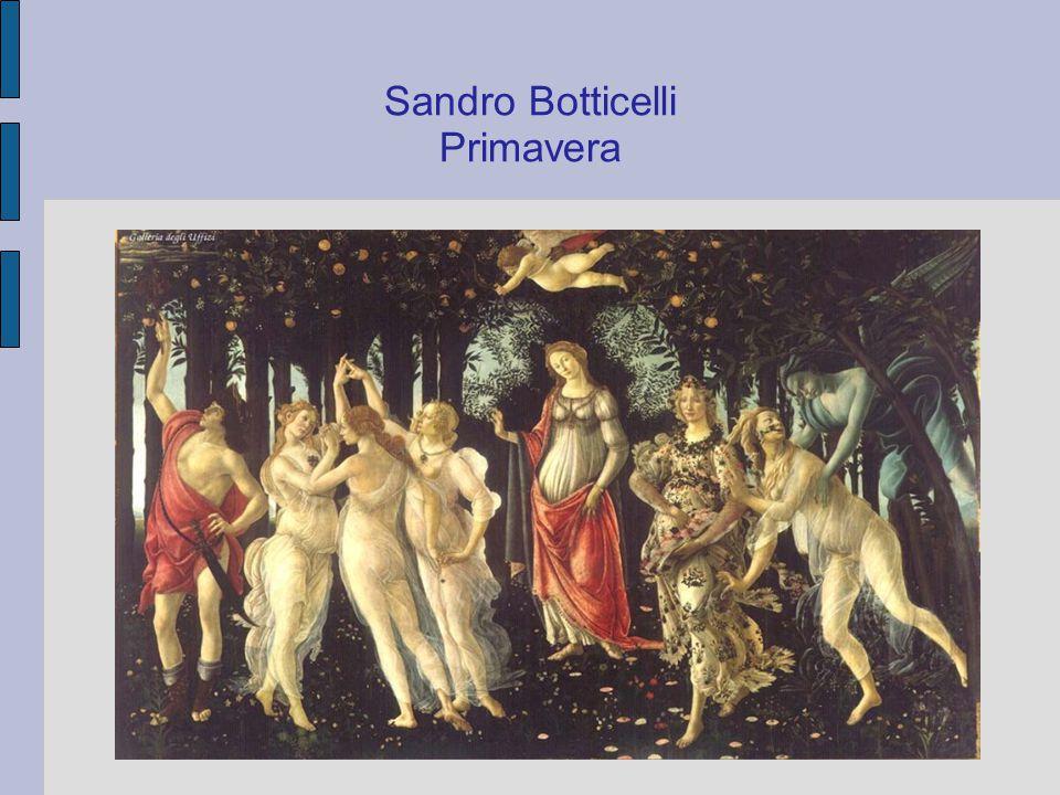 Sandro Botticelli (1445 – 1510) Zrození Venuše