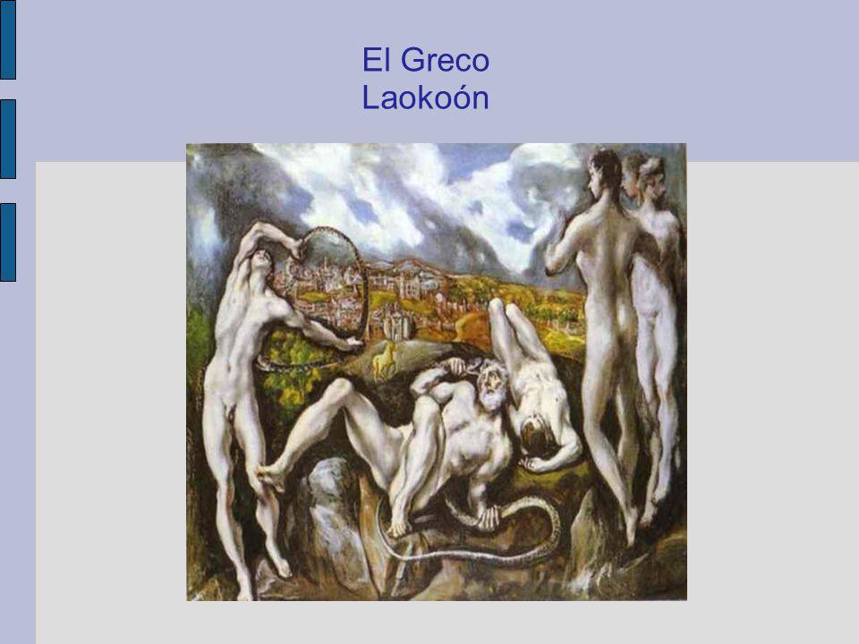 El Greco ( 1541 – 1614) Pohled na Toledo