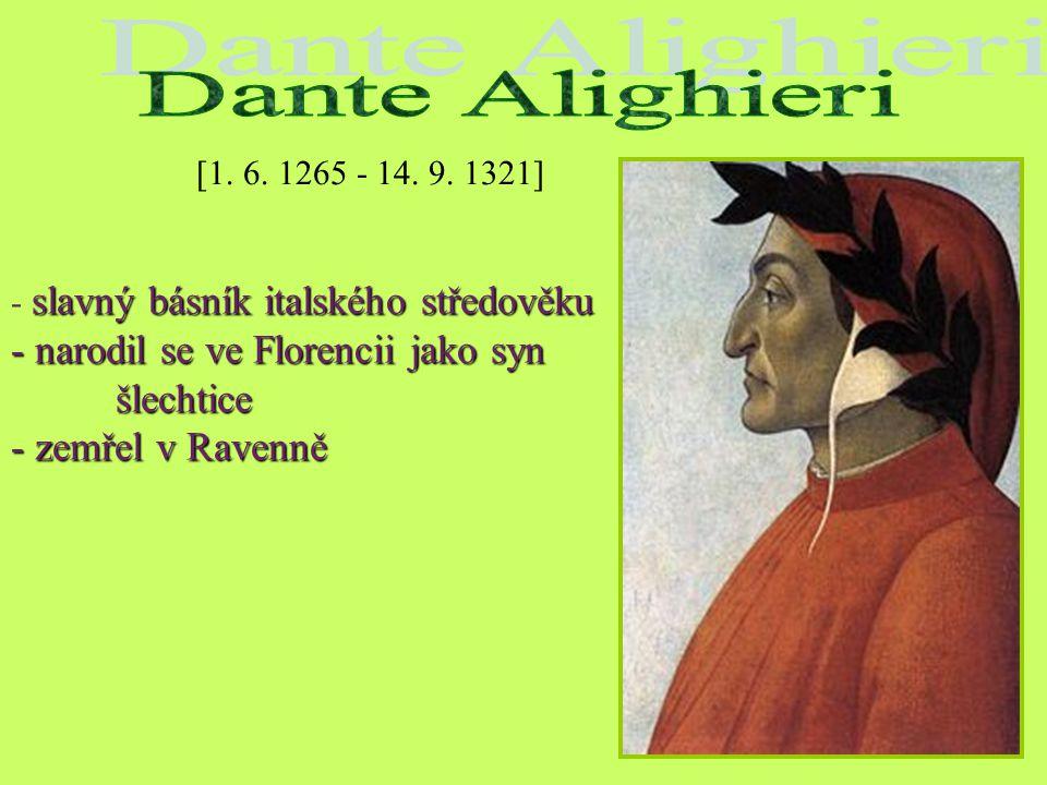 Zápis: Giovanni Boccaccio (1313 – 1375) - italský renesanční básník a prozaik - zakladatel it. umělecké prózy DEKAMERON Dílo: DEKAMERON - kniha sta no