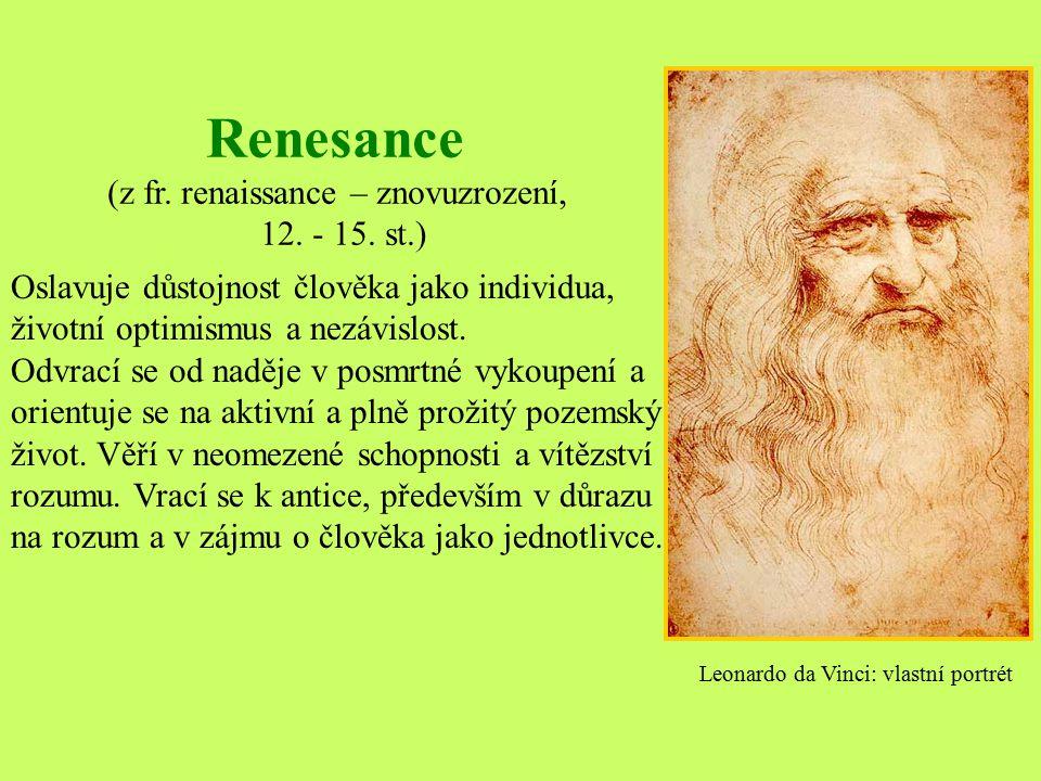 OBSAH 1)Definice RENESANCE 2)Společensko-historické pozadí 3)Malířství 4)Architektura 5)Sochařství 6)Hudba 7)Literatura 8)Italská renesance 9)Giovanni