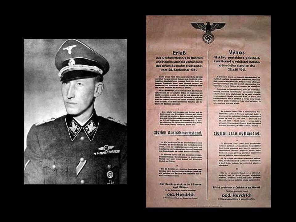 Heydrich v Praze září 1941