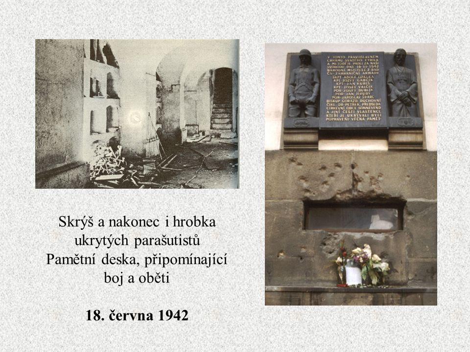 Tehdejší biskup Gorazd – za svou pomoc parašutistům byl popraven Pravoslavný kostel sv. Cyrila a Metoděje v Resslově ulici
