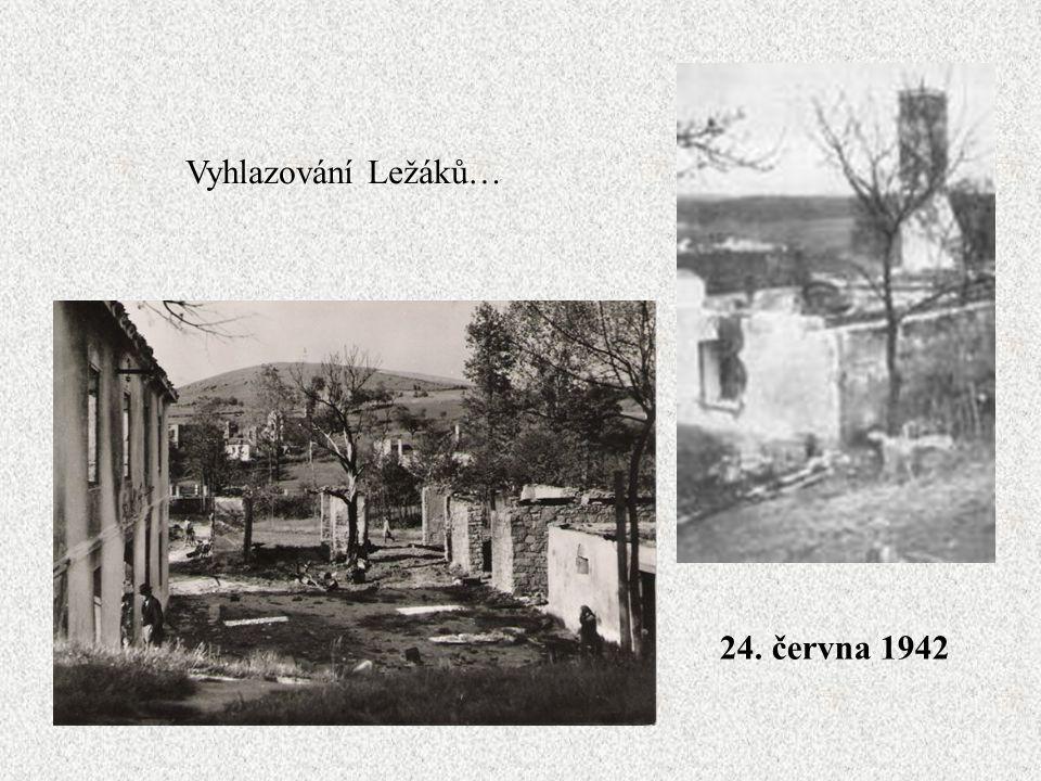 Stejný osud jako Lidice, potkal i malou hornickou osadu Ležáky. Mlýn, kde parašutisté skupiny Silver A ukrývali radiostanici Libuši.