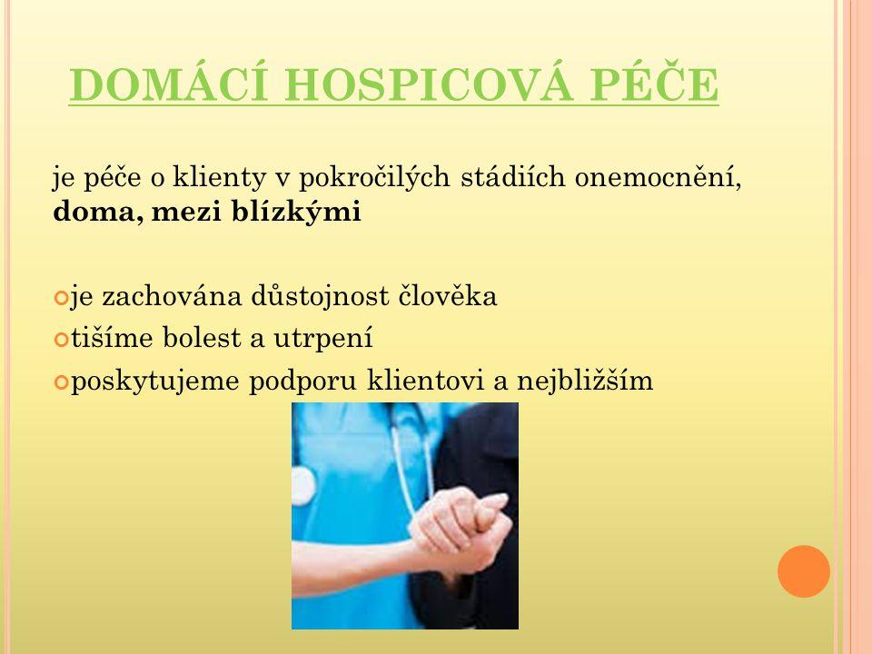 VÝKONY DZP ošetřovatelská rehabilitace – na lůžku, nácvik chůze, dechová cvičení, nácvik soběstačnosti a mobility převazy a ošetření ran – dekubity, bércové vředy odběry krve a biologického materiálu aplikace injekcí i.m.,s.c., i.v., Inzulinu aplikace i.v.
