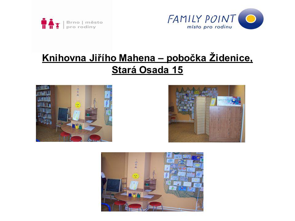 Knihovna Jiřího Mahena – pobočka Židenice, Stará Osada 15