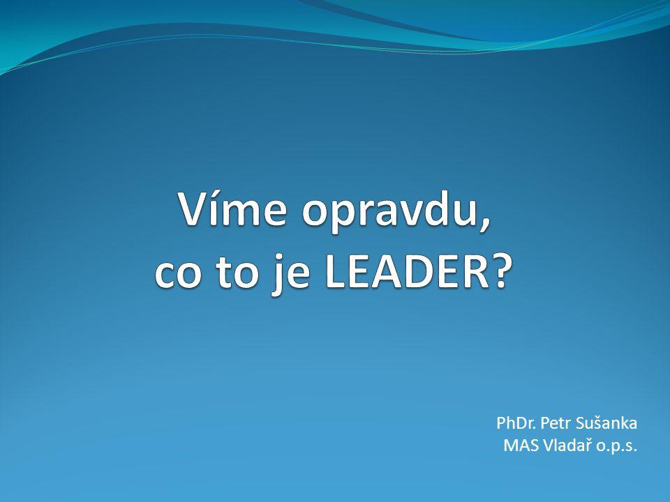 PhDr. Petr Sušanka MAS Vladař o.p.s.
