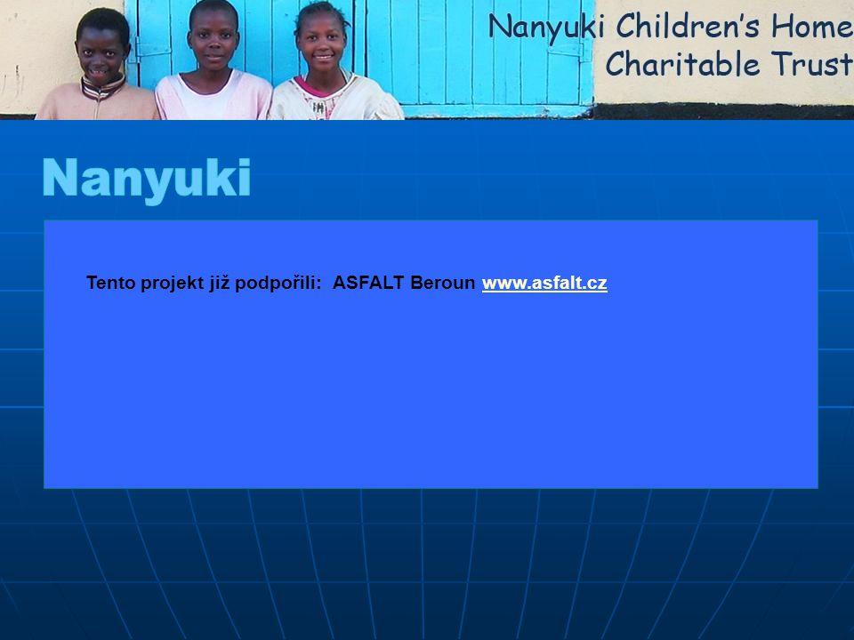 Tento projekt již podpořili: ASFALT Beroun www.asfalt.czwww.asfalt.cz