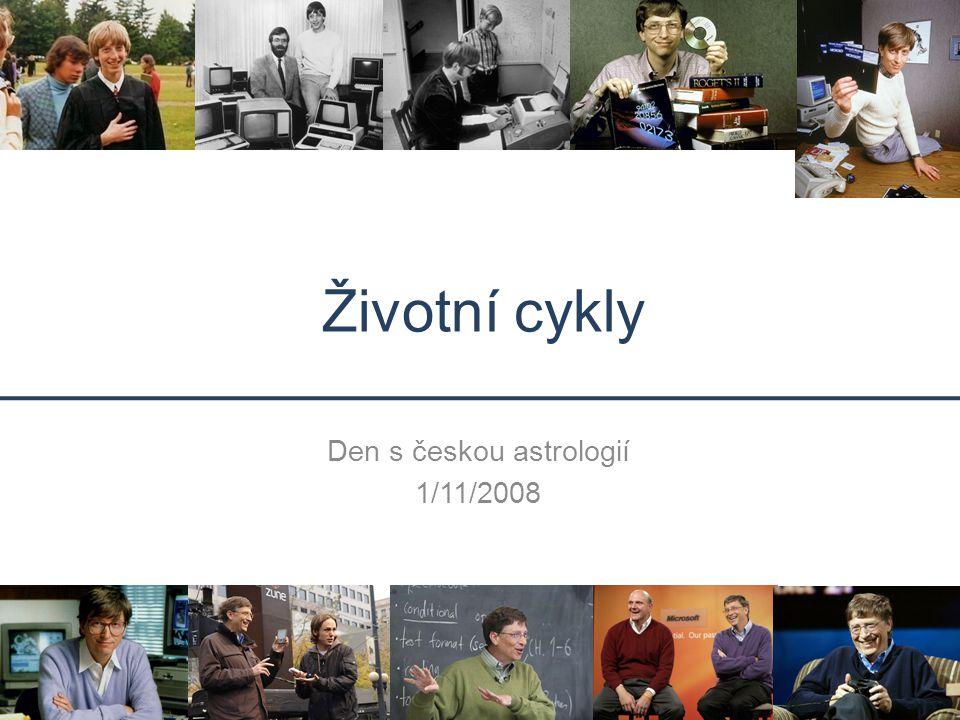 Životní cykly Den s českou astrologií 1/11/2008