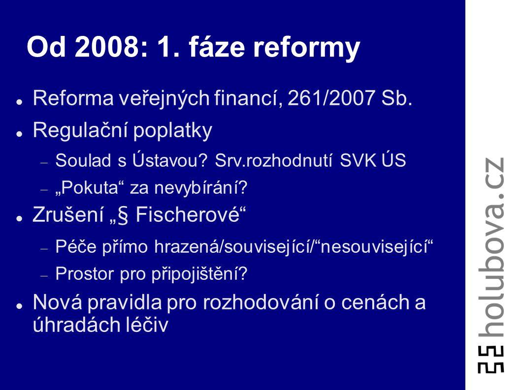 """Změny 2007 Vyhláška 385/2006 Sb. (64/2007 Sb.)  Obsah dokumentace, skartace  """"Nepřímá"""" právní úprava informovaného souhlasu Zákon 111/2007 Sb.  Pří"""