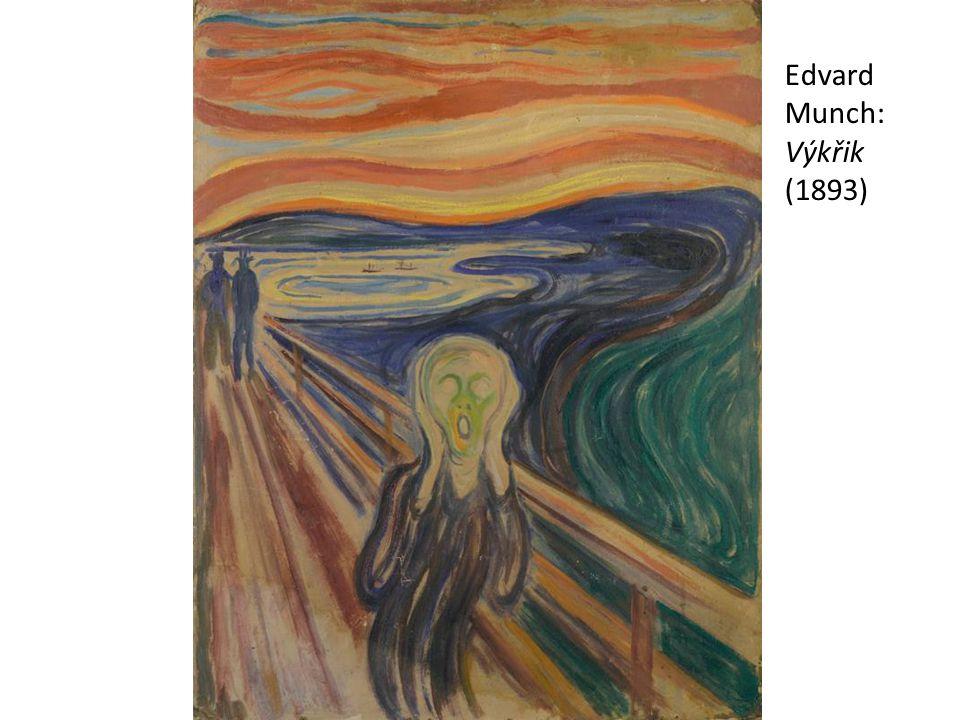 Edvard Munch: Výkřik (1893)