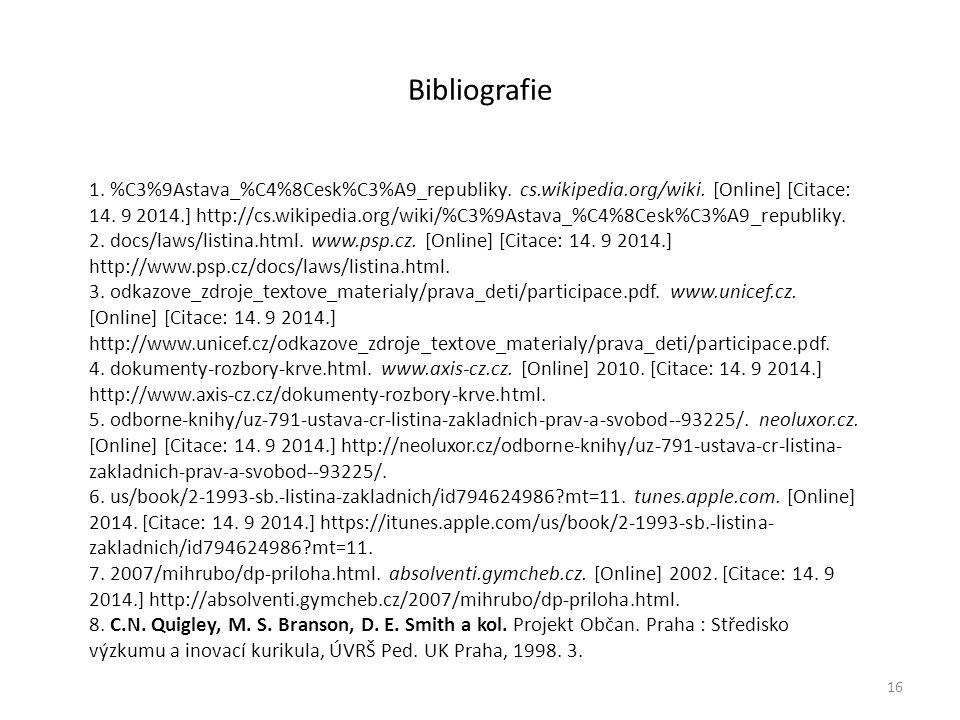 Bibliografie 16 1. %C3%9Astava_%C4%8Cesk%C3%A9_republiky.