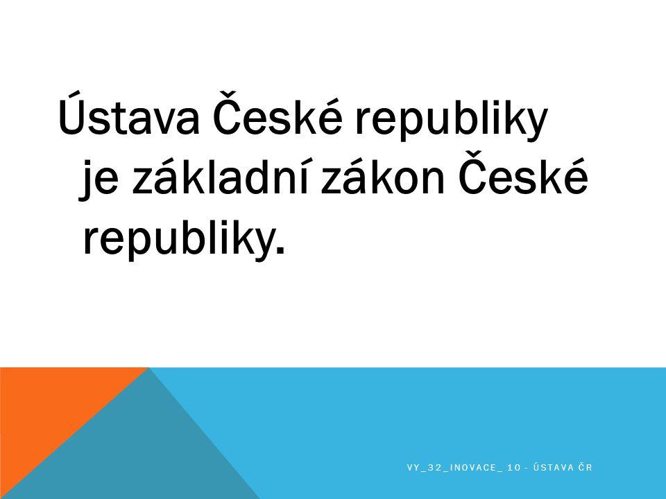 Byl přijat jako ústavní zákon Českou národní radou 16.