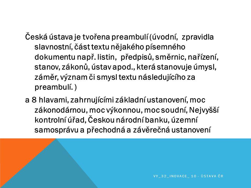 Do dubna 2011 byla Ústava šestkrát novelizovaná.