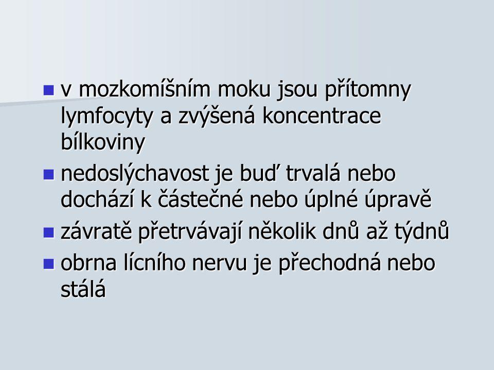 LÉČBA glukokortikoidy - prednison p.o.