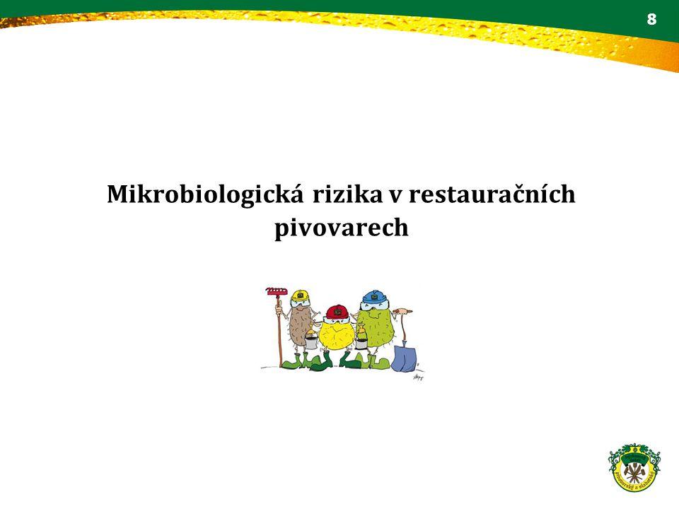 Mikrobiologická rizika v restauračních pivovarech 8