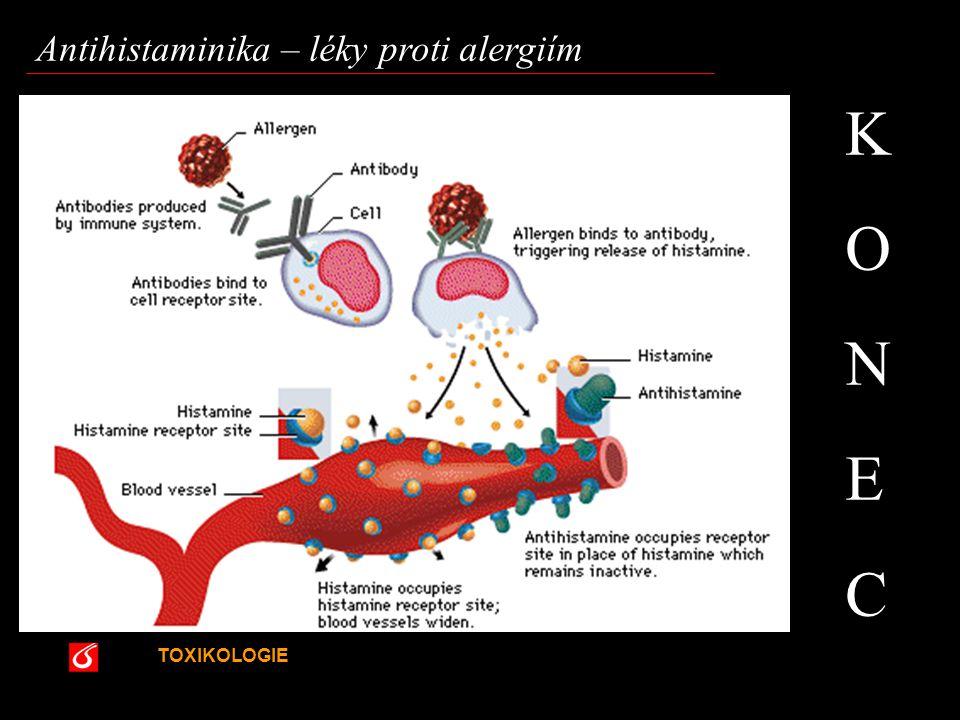 VŠCHT Praha Antihistaminika – léky proti alergiím TOXIKOLOGIE KONECKONEC
