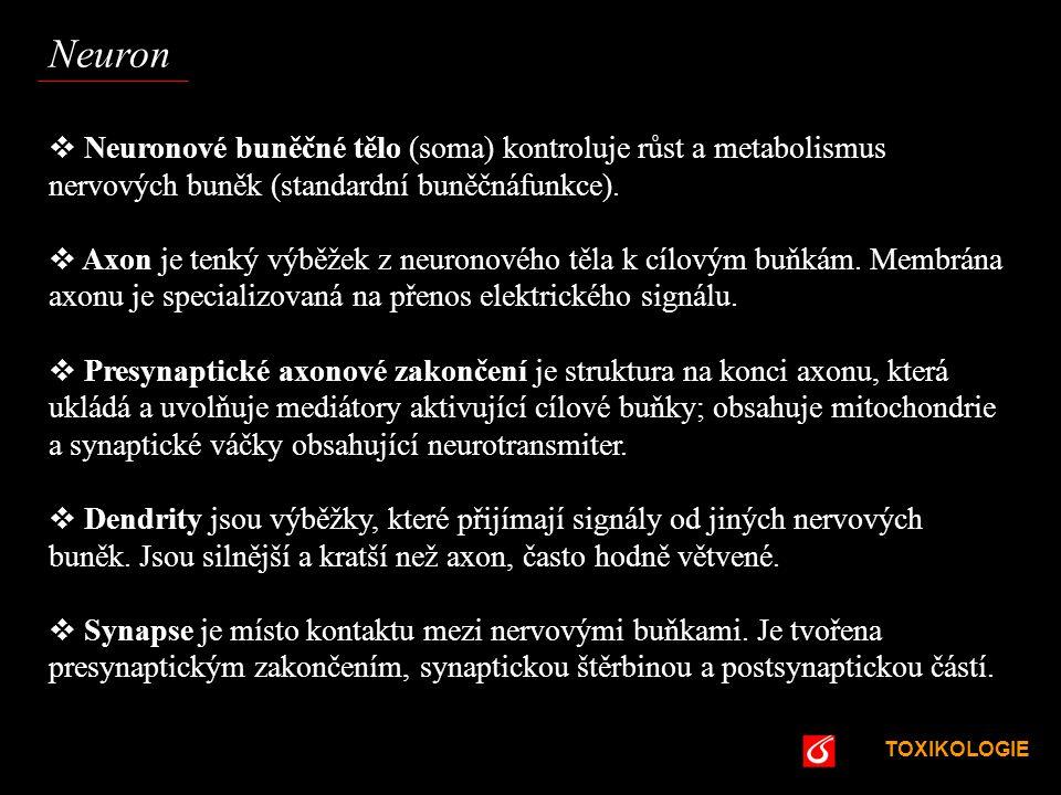 """TOXIKOLOGIE VŠCHT Praha Mezibuněčná komunikace – autakoidní přenos Dalšími """"informátory jsou tzv."""