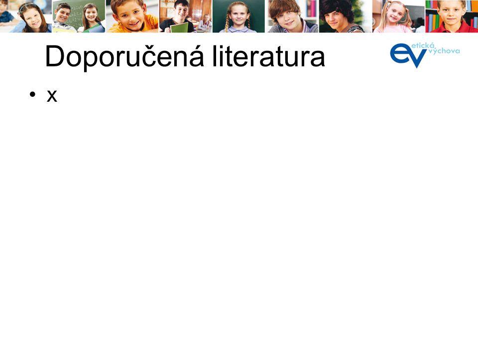 x Doporučená literatura