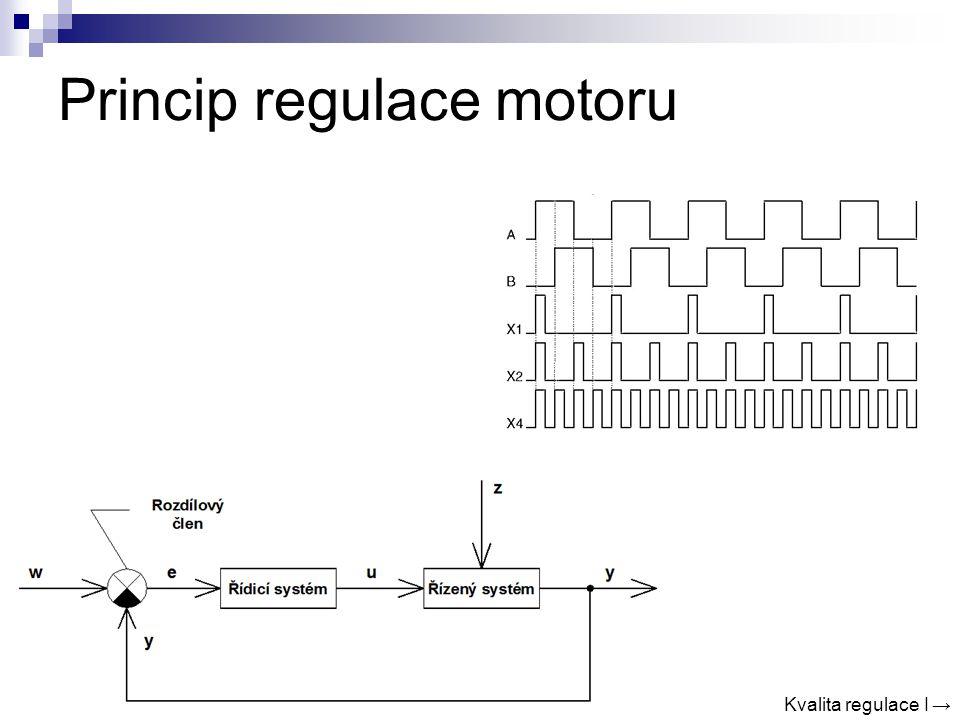 Princip regulace motoru Kvalita regulace I →