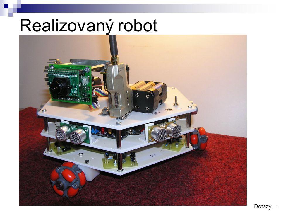 Realizovaný robot Dotazy →