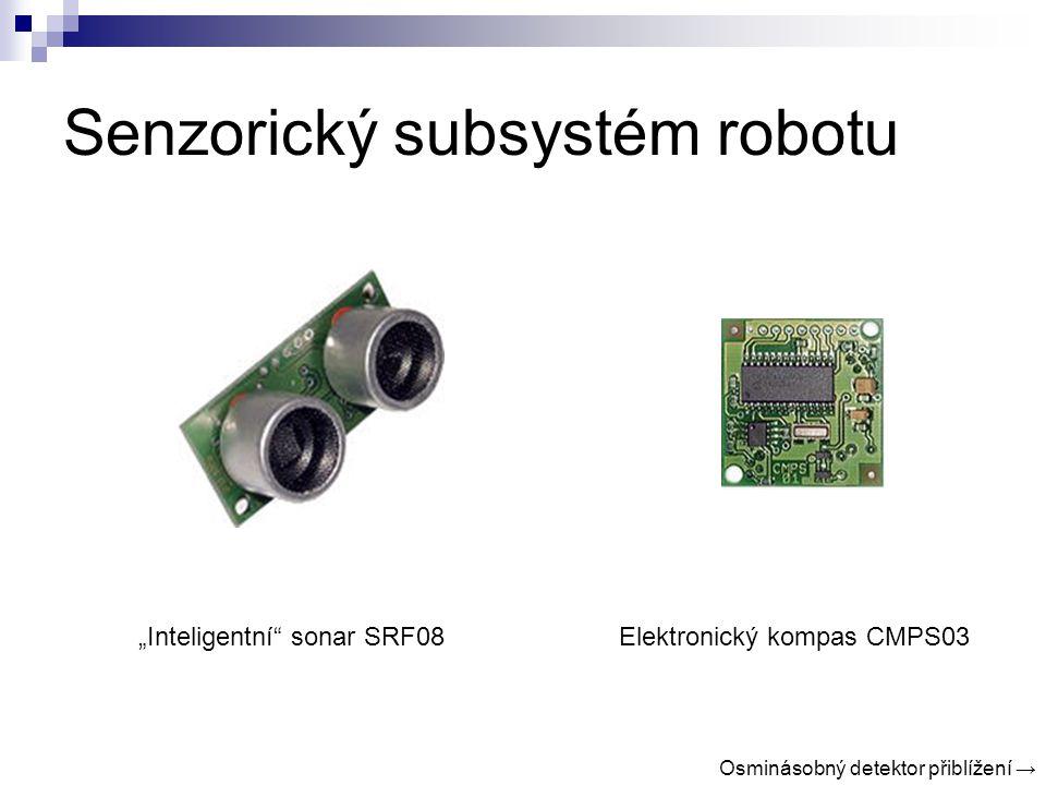 Osminásobný IR detektor přiblížení Hotový modul IR senzorů 3D vizualizace návrhu modulu IR Senzor Popis vlastností detektoru →