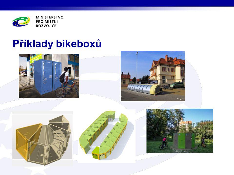 Příklady bikeboxů