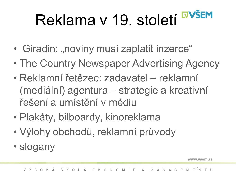 Reklama v 19.