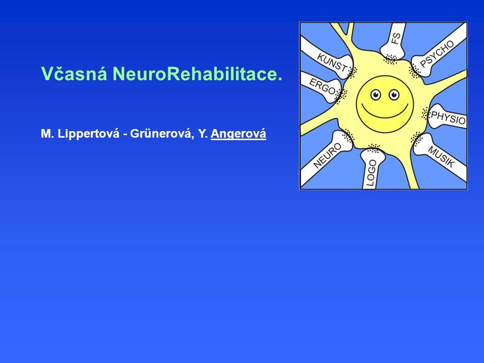 Včasná NeuroRehabilitace. M. Lippertová - Grünerová, Y. Angerová