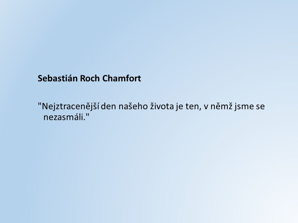 Sebastián Roch Chamfort
