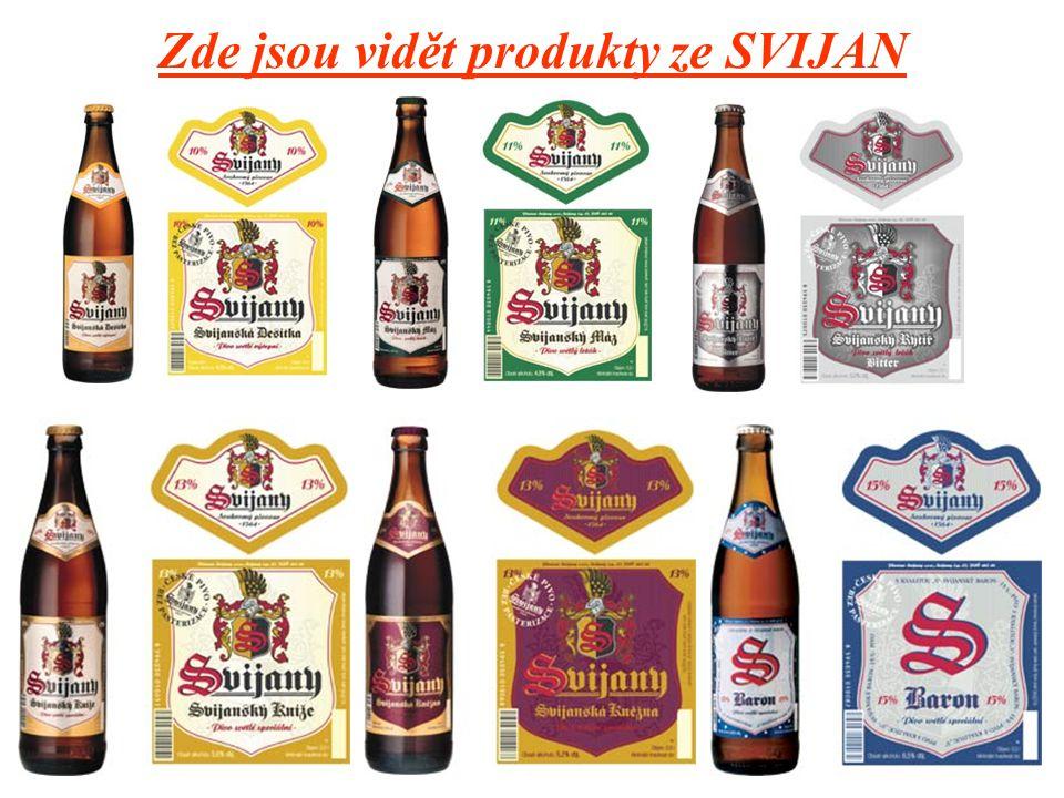 Známé Pivovary: Svijany Soukromí pivovar od roku 1564 V polovině 20 století se stal provozem Severočeských pivovarů n.