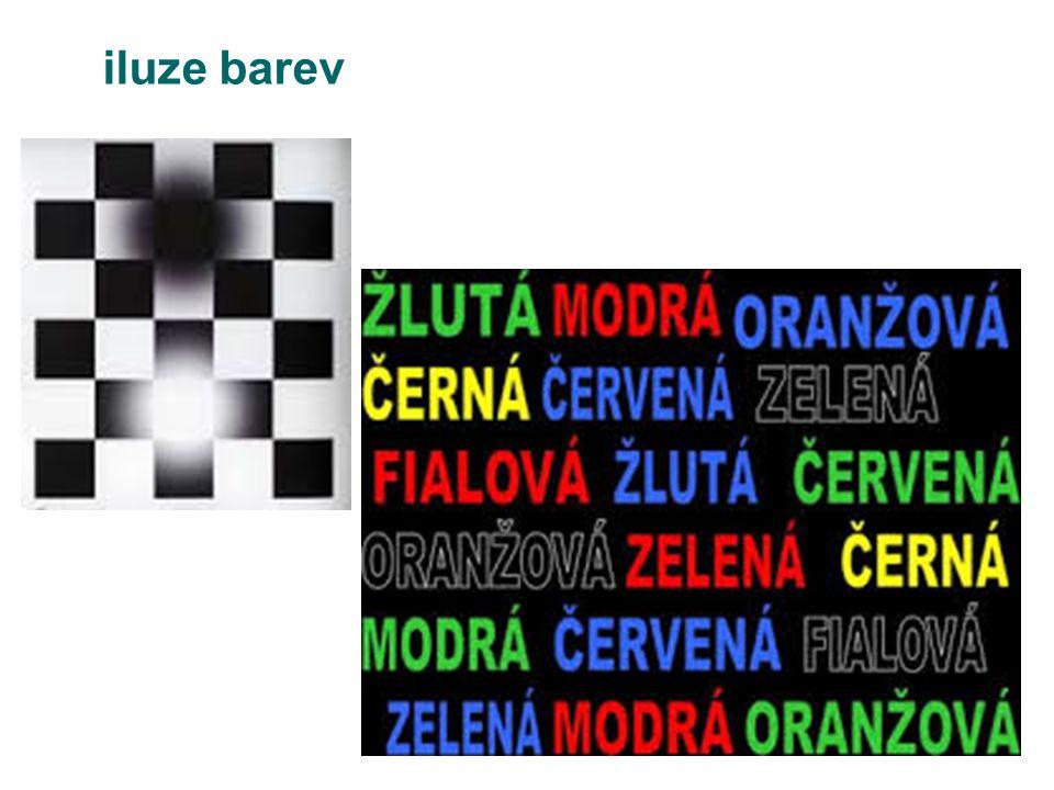 iluze barev