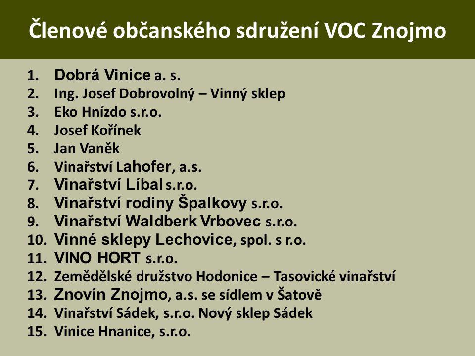 Kontakt VOC Znojmo Brněnská 523 671 82 Dobšice voc@vocznojmo.cz www.vocznojmo.cz