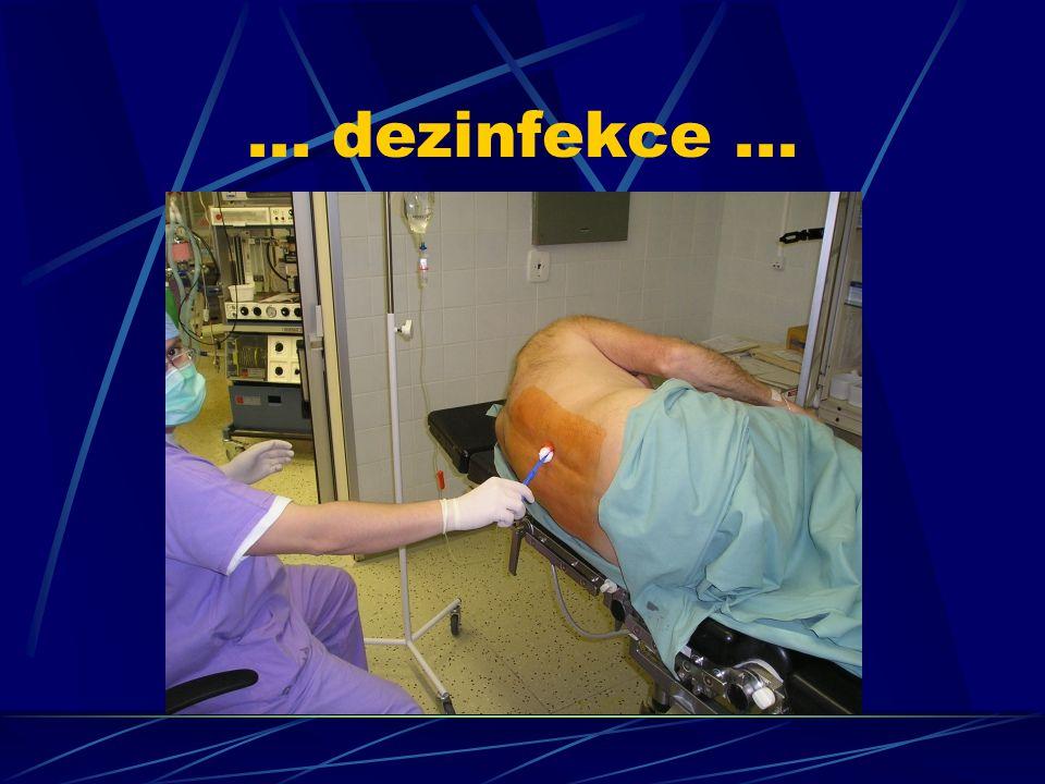 ... dezinfekce...