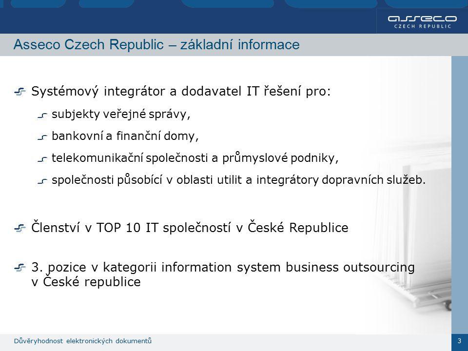 Důvěryhodnost elektronických dokumentů 4