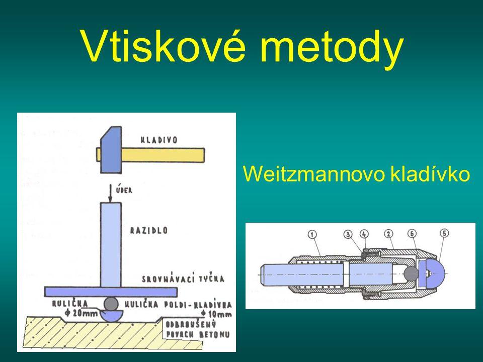 Vtiskové metody Weitzmannovo kladívko