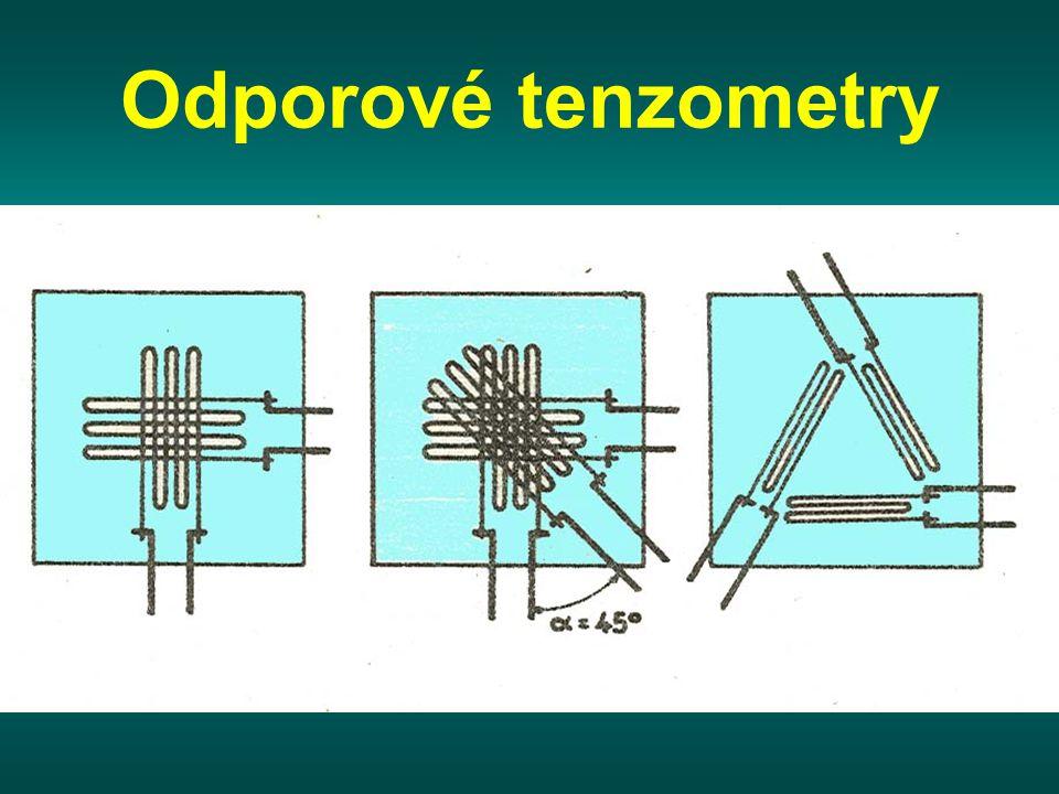 Odporové tenzometry