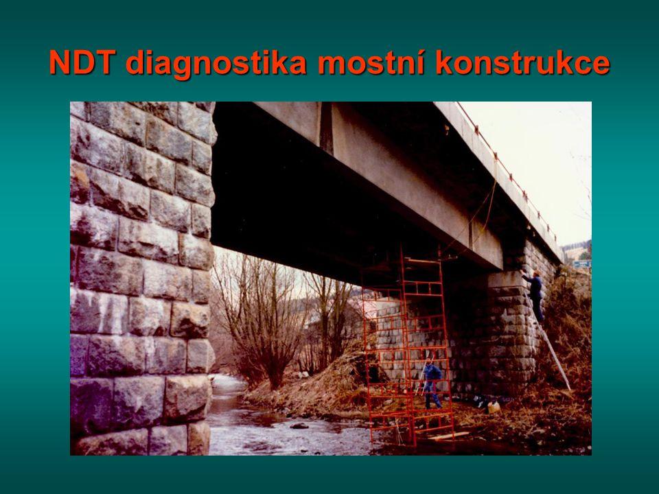 NDT diagnostika mostní konstrukce