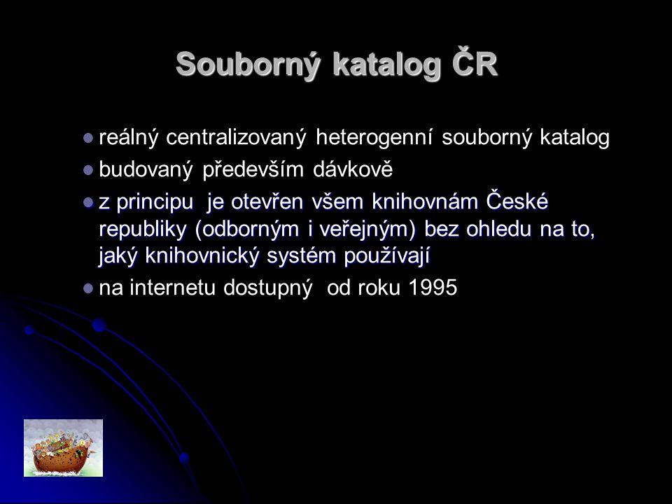 Co mohou muzea … nabídnout SK ČR (resp.jeho uživatelům) .