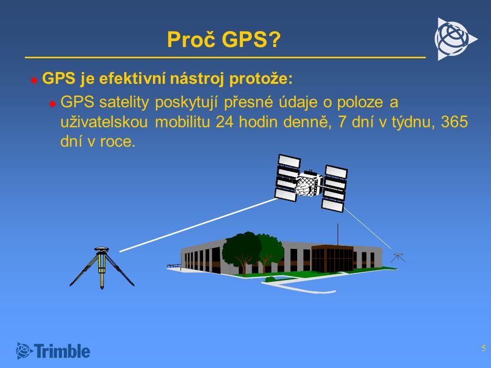 5 Proč GPS.
