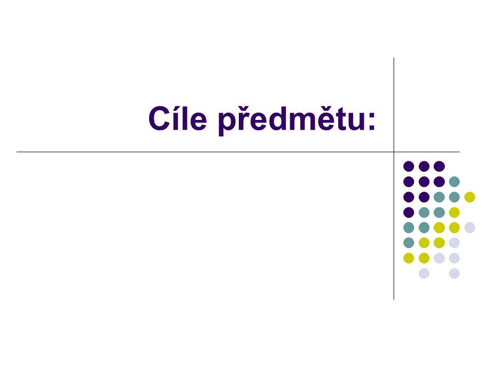 Konstrukce didaktického testu (Skutil a kol., 2011): 1.