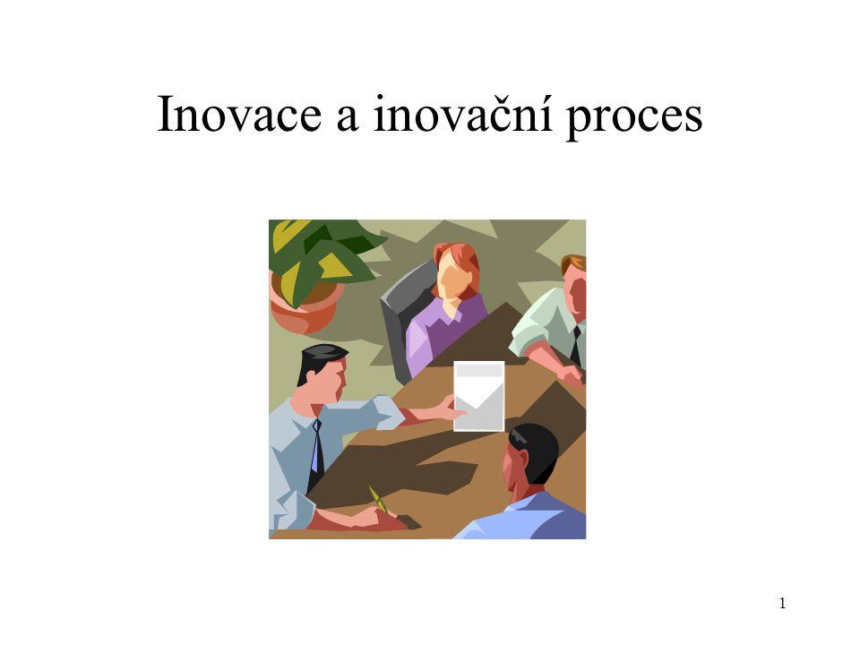 Inovace je změna daného stavu a lze ji aplikovat ve všech směrech lidských aktivit.