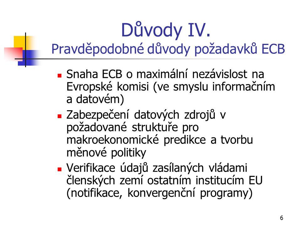 6 Důvody IV.
