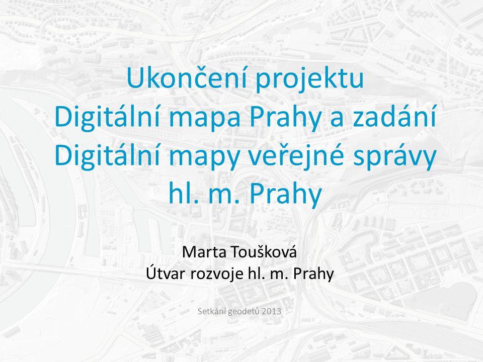 Marta Toušková Útvar rozvoje hl. m.