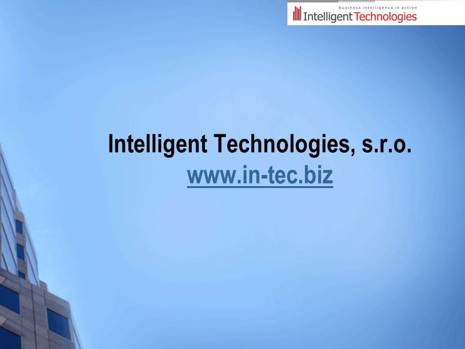 Intelligent Technologies, s.r.o.