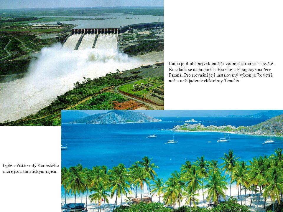 Itaipú je druhá nejvýkonnější vodní elektrárna na světě. Rozkládá se na hranicích Brazílie a Paraguaye na řece Paraná. Pro srovnání její instalovaný v