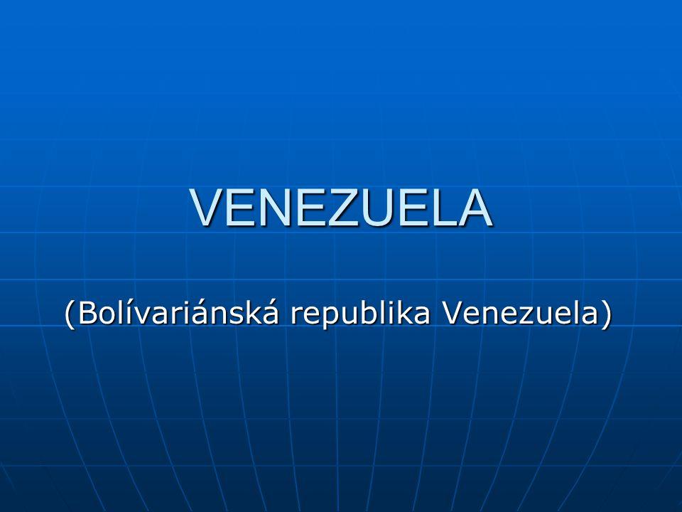 Co víte o Venezuele??.