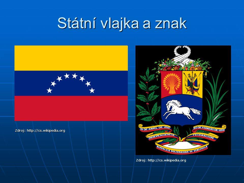 Poloha V S části Jižní Ameriky, při Karibiku V S části Jižní Ameriky, při Karibiku Zdroj: http://cs.wikipedia.org