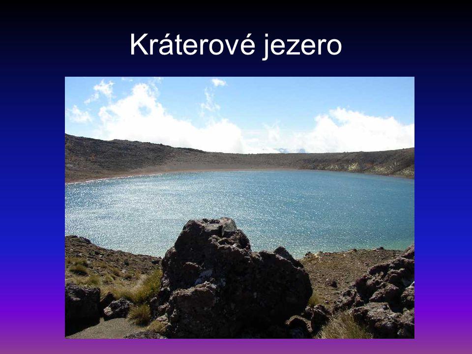 Kráterové jezero