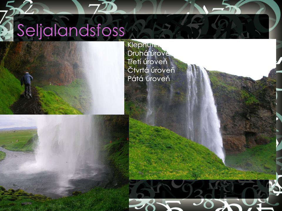 Seljalandsfoss Klepnutím lze upravit styly předlohy textu. Druhá úroveň Třetí úroveň Čtvrtá úroveň Pátá úroveň